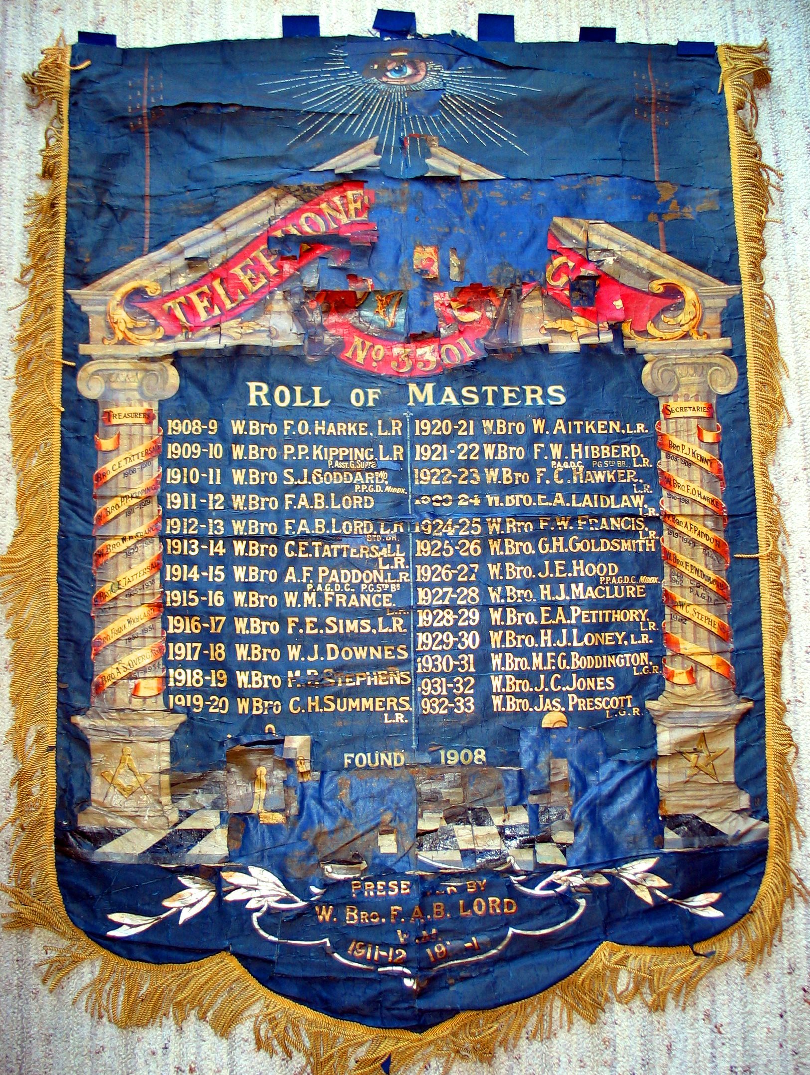 Original Lodge Banner