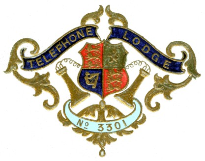 Embossed Lodge Badge